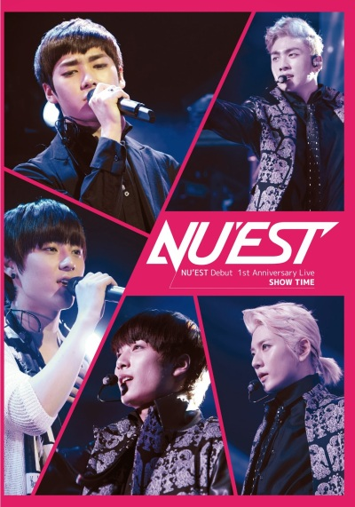 NUEST_Debut_1st_Anniversary_Live_SHOW_TIME
